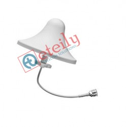 3G 3dBi Ceiling Antenna with RG 58 RF cable | N Female Connector ETEILY