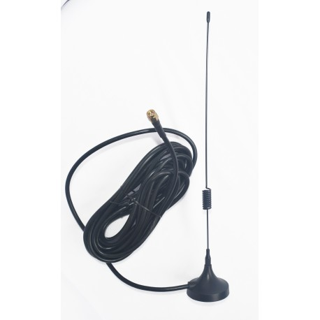 3G 7dBi Spring Magnetic Antenna with RG 58 Cable | SMA Male Connector ETEILY