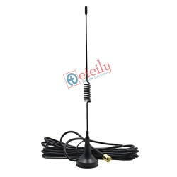 4G 5dBi Spring Magnetic Antenna RG174 Cable | SMA Male St. Connector