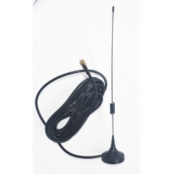 4G 7dBi Spring Magnetic Antenna with RG58 Cable | SMA Male St. Connector