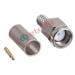 SMA Male St. for RG58(Nickel Plated)