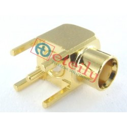 MCX Female R/A PCB Mount Connector