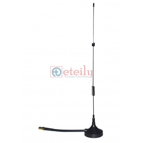 4G 9DBI MAGNETIC ANTENNA Rg58 10CM Cable with SMA (F) St.