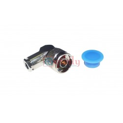 N Male Right Angle For LMR-240 Cable