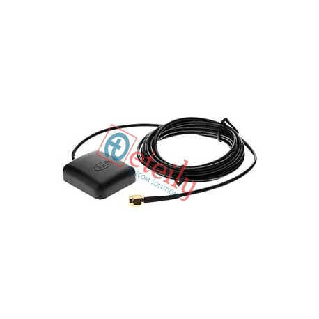 GPS MAGNETIC ANTENNA WITH RG174 3 MTR CABLE SMA MALE CONNECTOR