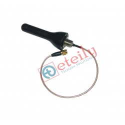 GSM 3DBI SCREW MOUNT ANTENNA RG-316, 25cm SMA MALE CONNECTOR ETEILY