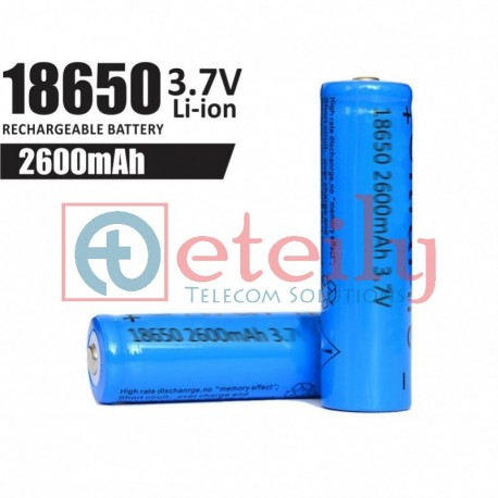 18650 Li-ion Battery Cell (2600 mAh)