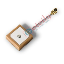GPS Internal Antenna 25x25, 4cm 1.13 +UFL