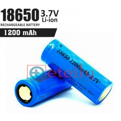 18650 Li-ion Battery Cell (1200 mAh)