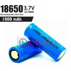 18650 Li-ion Battery Cell (1500 mAh)