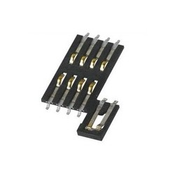 Smart Card Holder High quality sim card slot with blade switch