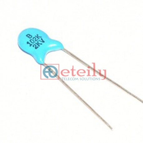High voltage ceramic capacitor 2KV 102 1NF 2000V