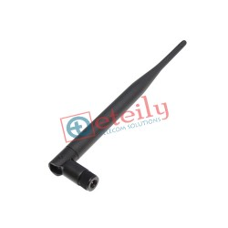 868 MHz/LoRa 5dBi Rubber Duck Antenna with SMA Male Movable Connector ETEILY