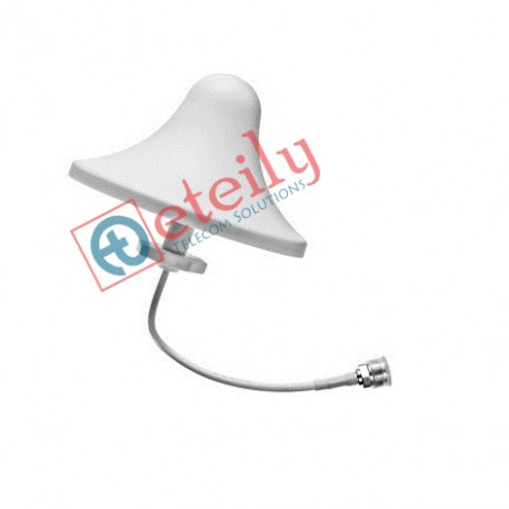 868 MHz/LoRa 4dBi Ceiling Antenna with RG 58 Cable   N Female Connector ETEILY