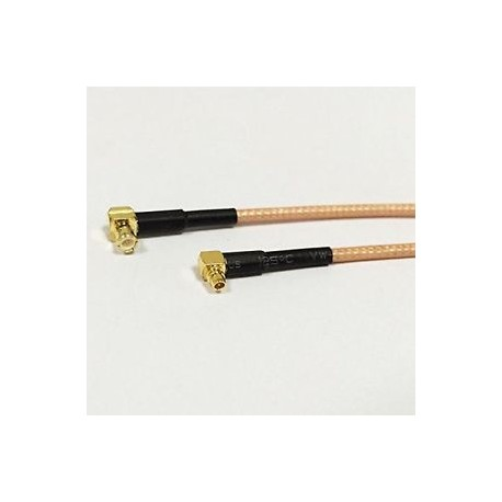 MCX Male Right Angle To MMCX Male Right Angle RG 316 Cable