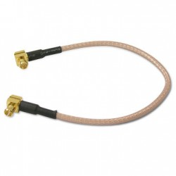 MCX Male Right Angle To MCX Male Right Angle RG 316 Cable