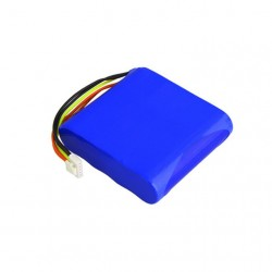 Rechargeable 5000mah 1S2p 18650 Battery Pack , 3.7 Volt Lithium Ion Battery