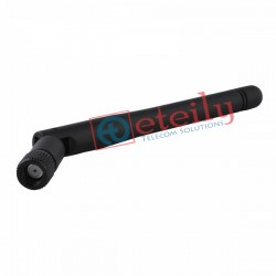 2.4GHZ 3DBI WIFI RUBBER DUCK ANTENNA SMA MALE RP MOVABLE