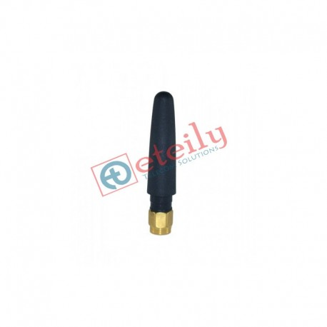 5.8 GHz 2.5dBi Rubber Duck Antenna with SMA Male Straight Connector ETEILY