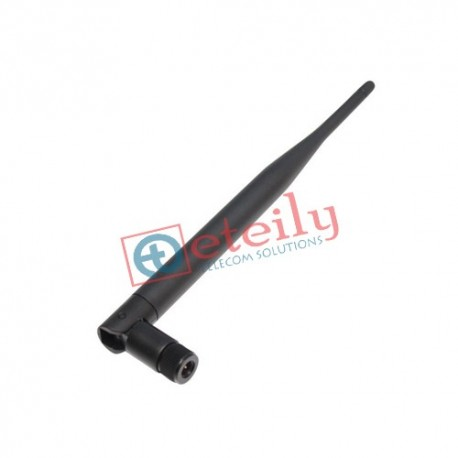 915MHz 3dBi Rubber Duck Antenna with SMA Male R/A