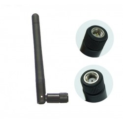 315 MHz 3dBi Rubber Duck Antenna with SMA Male Movable