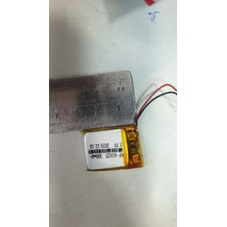 3.7 V Li-Polymer Battery Cell  300mAh