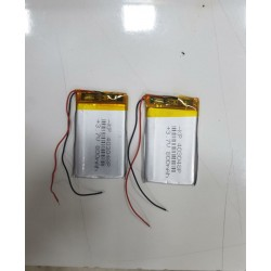 3.7 V Li-Polymer Battery Cell  800mAh