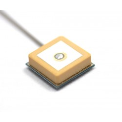 GPS Active Internal Patch 18*18 Antenna with 1.13mm RF Cable | UFL Connector