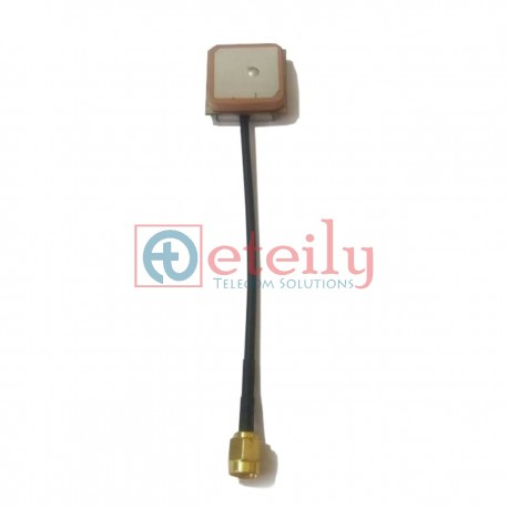 GPS Internal Antenna 15X15 with Rg174 10cm Cable+SMA Male St.
