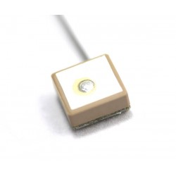 GPS Passive Patch 10x10 Antenna with 1.13mm Cable | UFL Connector
