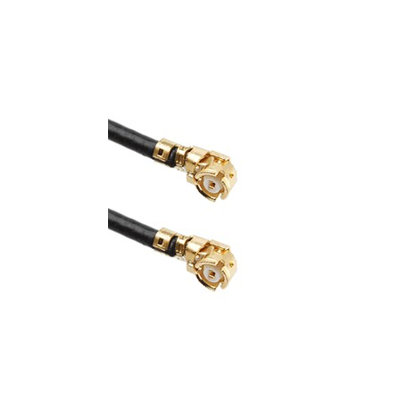 UFL R/A to UFL R/A with 1.13mm OD Coaxial Cable