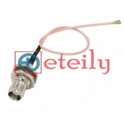 UFL Connector to TNC (F) St. Connector with RG316 Cable - ETEILY TECHNOLOGY