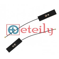 2.4 & 5.8 GHz Dual Band 5dBi Flexible Antenna with 1.13mm Cable | U.FL Connector