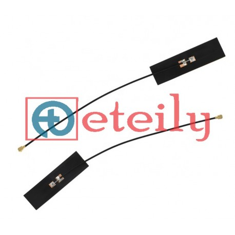 2.4 & 5.8 GHz Dual Band 5dBi Flexible Antenna with 1.13mm Cable | U.FL Connector ETEILY