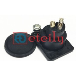 EV Panel Connector 3 Pin Pair (M/F)