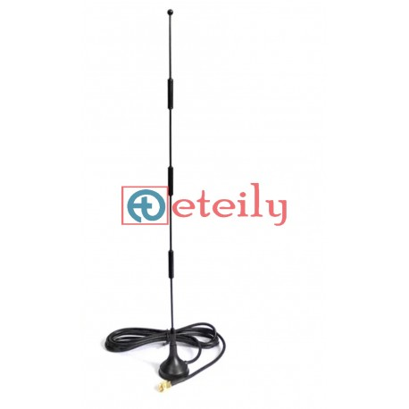 4G 15dBi Spring Magnetic Antenna with RG 174 Cable | SMA Male Connector