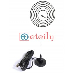 Wi-Fi 38dBi External Spring Magnetic Antenna with RG 174 Cable | SMA Male Connector