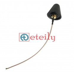 2.4GHz 3dBi Rubber Duck Antenna with RG178 Cable | U.FL Connector