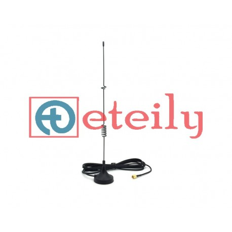 4G 12dBi Spring Magnetic Antenna with RG 174 Cable | SMA Male  Connector ETEILY