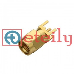 SMA (M) Straight PCB Mount Connector