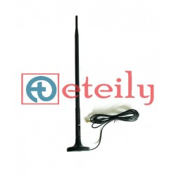 3G 9dBi Rubber Magnetic Antenna with RG 174 Cable | SMA Male Connector