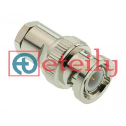 BNC (M) Clamp Connector for RG58 Cable