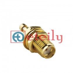 SMA (F) BH Connector for 1.13mm Cable