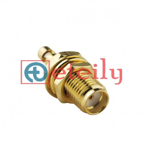 SMA (F) BH Connector for 1.13mm Cable ETEILY
