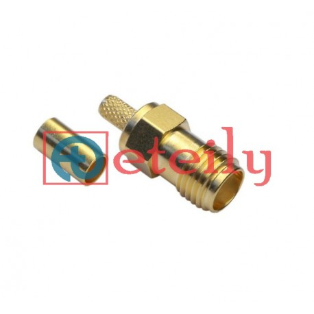 SMA (F) St. Connector for RG 316 Cable Eteily Technologies