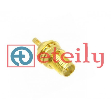 SMA (F) RP B/H St. Connector for 1.13mm Cable ETEILY