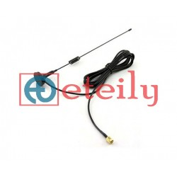 4G 10dBi Magnetic Antenna with RG174 Cable | SMA Male Straight Connector