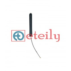 2.4 GHz Wi-Fi 3dBi Rubber Duck Antenna Movable with 1.13mm Cable | UFL Connector