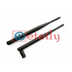 3G 5dBi Rubber duck Antenna with SMA Male Movable Connector ETEILY