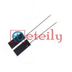 865MHz/Helium Frequency 5dBi PCB Flexible Antenna with 1.13mm Cable | UFL Connector - ETEILY TECHNOLOGIES